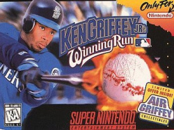 The Mariners' star talent also featured prominently in several Nintendo-published baseball titles