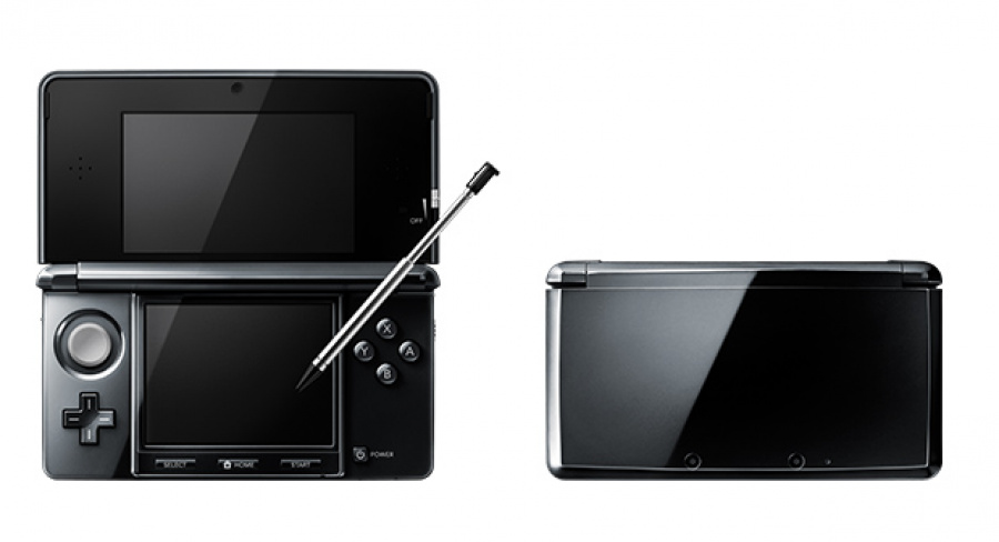3 DS Clear Black