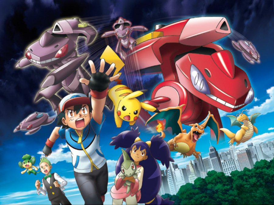 Pok'Mon the Movie Genesect and the Legend Awakened Poster 2