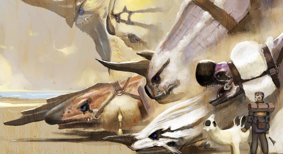 Drag-on, dragoon