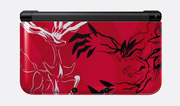 3 DS XL Poke Red