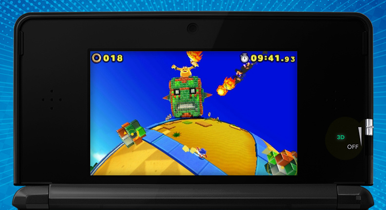 Sonic Lost World 3ds : Sega unleashes a plethora of sonic lost world screens
