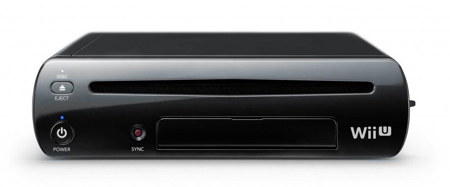 Wii U Console Black Web