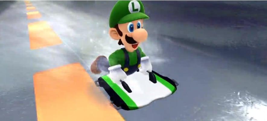 Winter Olympics Luigi