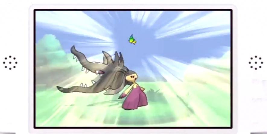 Pokemon X & Y Screen