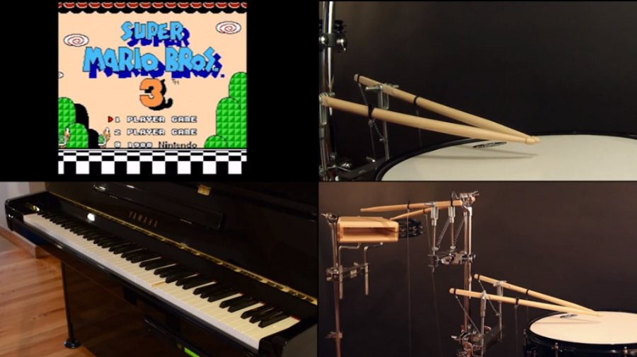Robot Nintendo Music