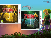 The Legend of Zelda: A Link Between Worlds Reversible Covers Shown Off