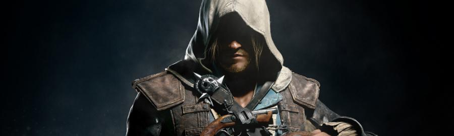 Assassin Black Flag Banner