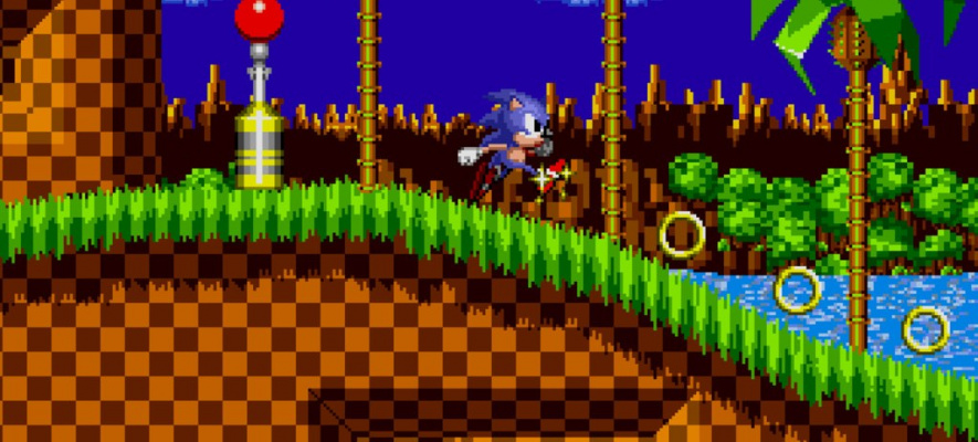 Even today, Sonic's first outing looks amazing