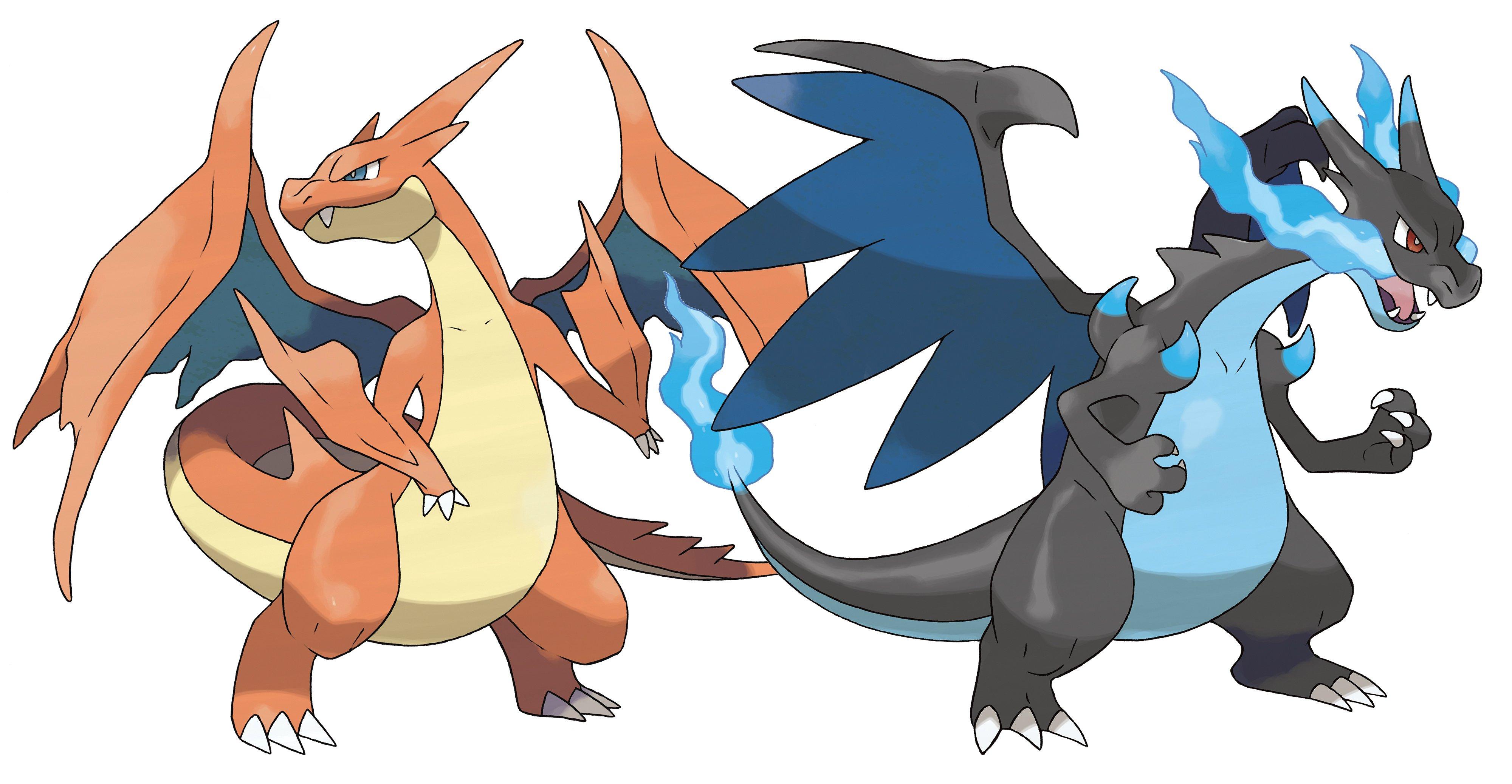 006-Mega Charizard X by Tzblacktd on DeviantArt |Pokemon X And Y Mega Evolutions Charizard