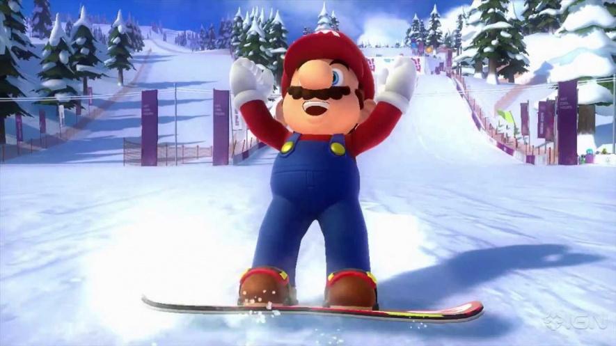 Winter Olympics Screen
