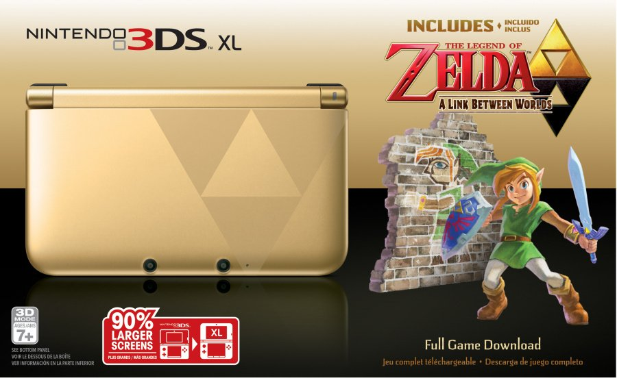 Zelda 3 DSXL Bundle Front Highres