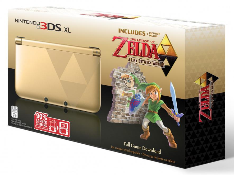 3 DSXL 3 D Prod Shot Zelda Bundle