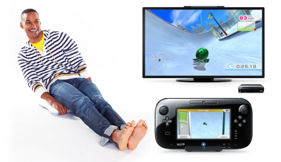 Wii Fit U Luge