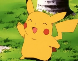 We love that smile, Pikachu