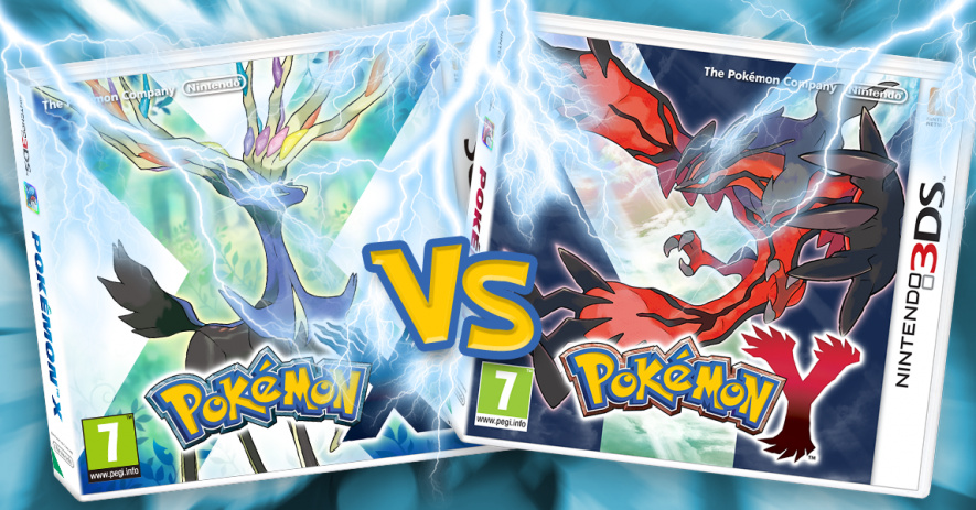 Pokemon X vs Y