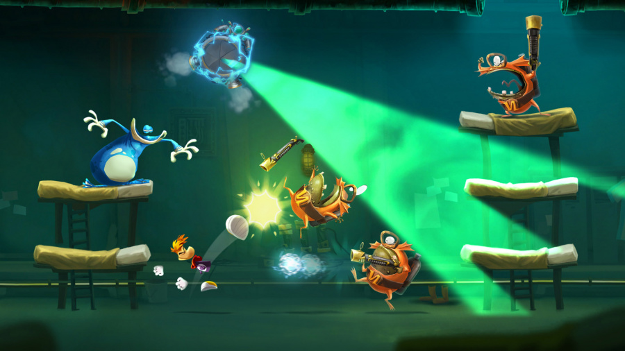 Rayman falls flat in the land of the rising sun