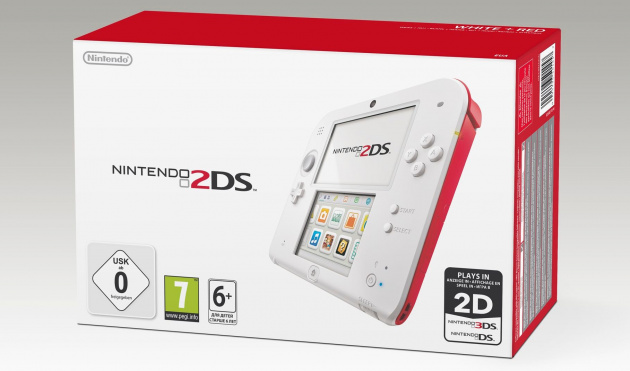 2 DS Red