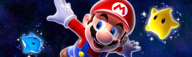 Super Mario Galaxy Banner