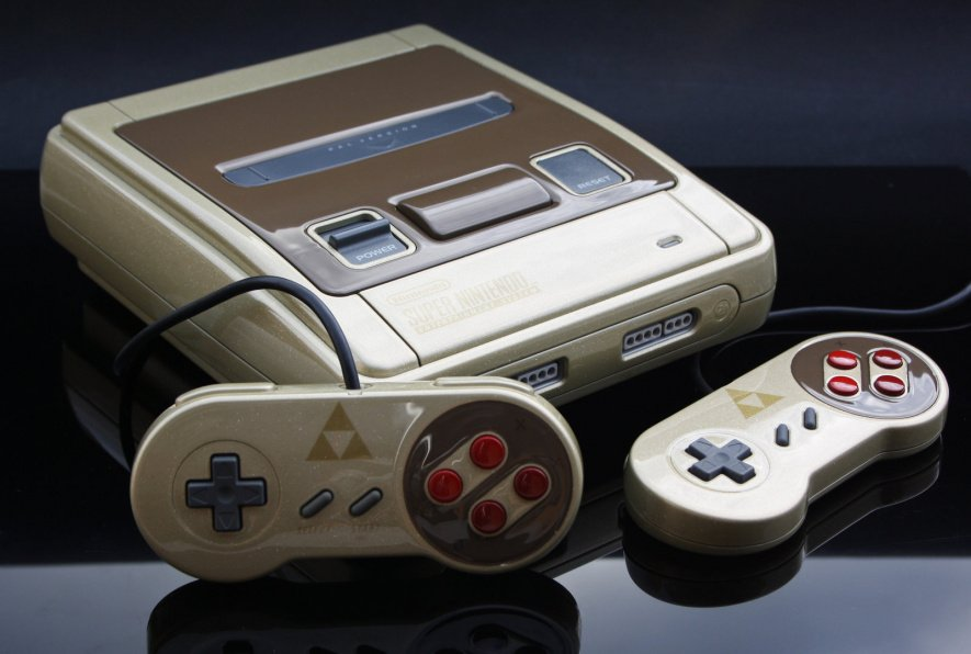 Gorgeous SNES