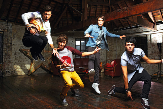 Union J. Floating. Yesterday.