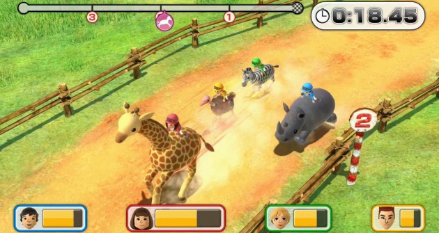 Wii Party U Screen