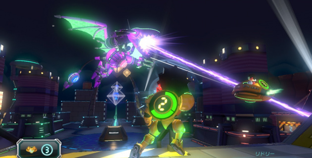 Metroid Blast from Nintendo Land: the closest thing to a first-party shooter on the Wii U