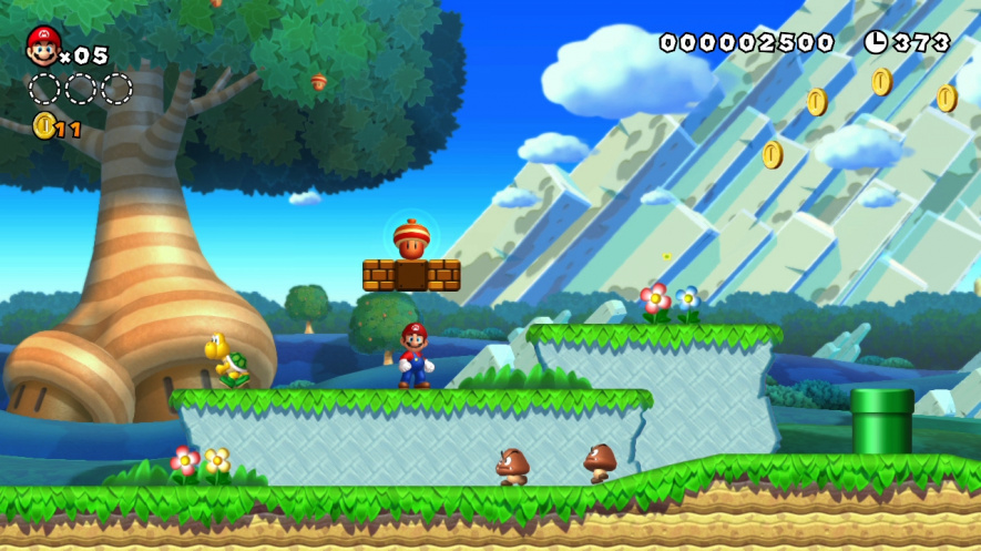 New Super Mario Bros U: Some critics hate this game because they've seen it all before. I love this game for exactly the same reason.