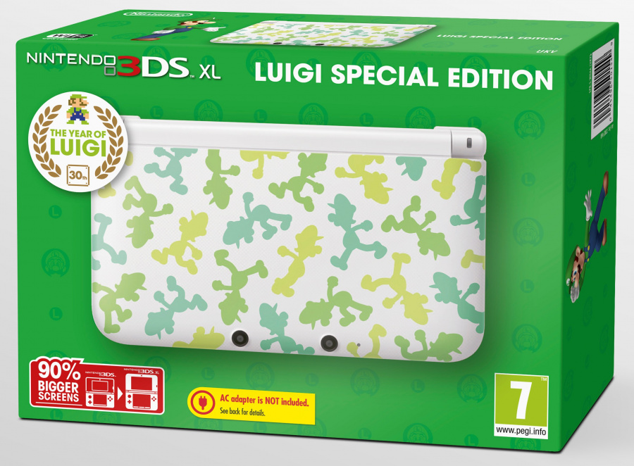 SPFL HW Box Luigi Edition PS 3 D UKV