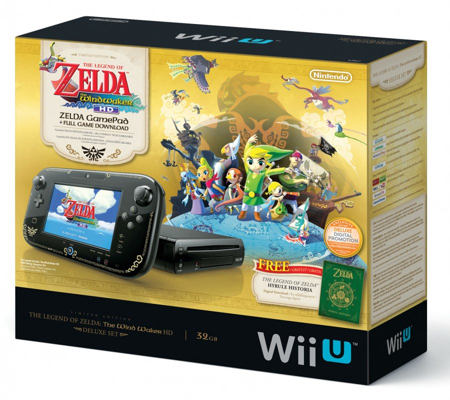 Tww Hd Deluxe Set Wiiu Bundle