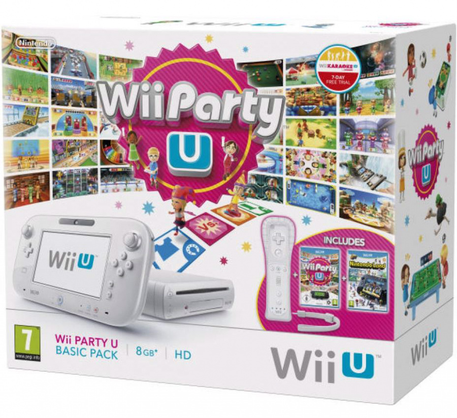 Wii Party U Bundle