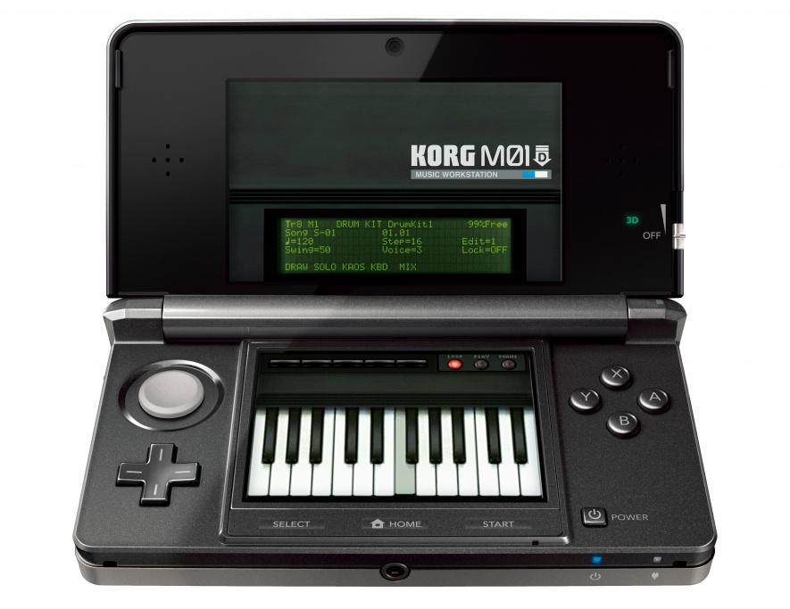 KORG M01 D on 3 DS
