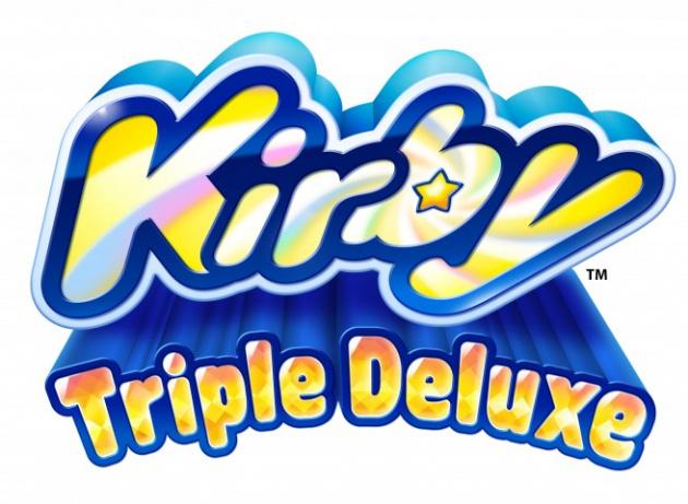 Kirby Triple Deluxe Logo
