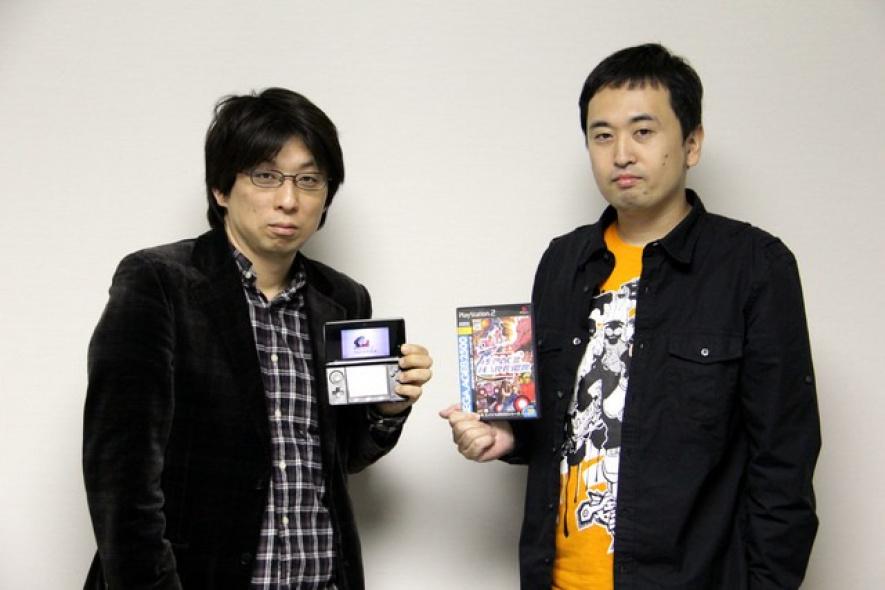 Naoki Horii, President, M2 (left) and Yosuke Okunari, Producer, SEGA CS3 (right)