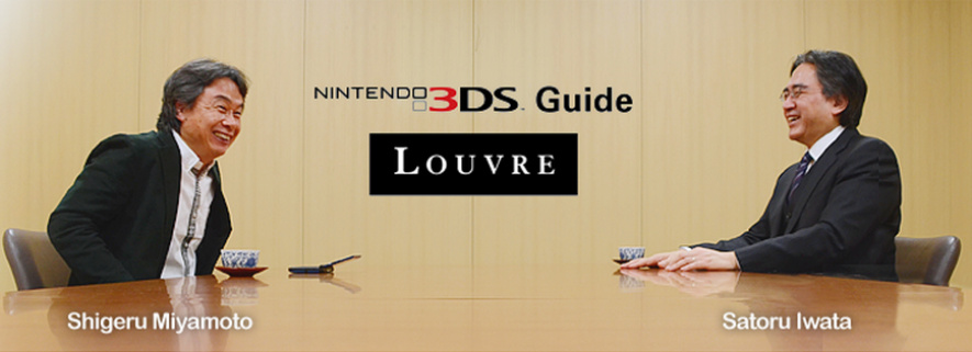 Iwata Asks Louvre