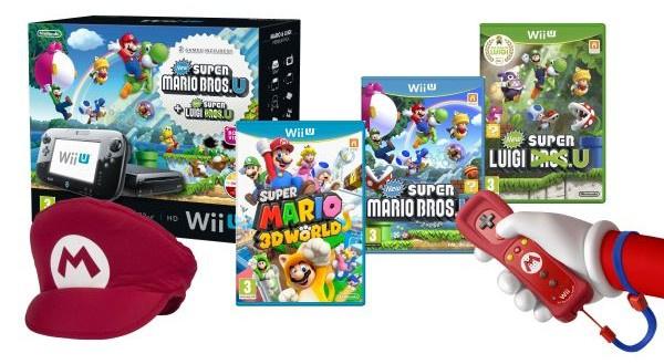 Wii U Mega Mario Bundle