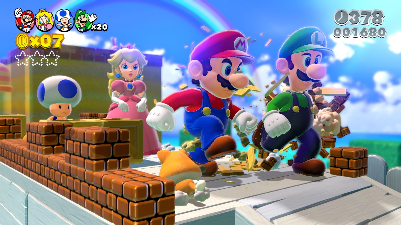 Out Now Super Mario 3D World A Link Between Worlds and