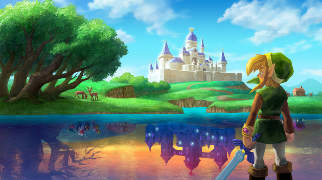 A Link Between Worlds Art