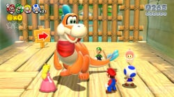 Yoshi isn't around, but all 4 players will still get to ride Plessie