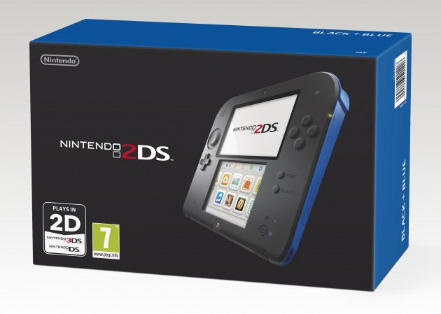 Nintendo 2 DS Black & Blue