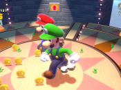 Prepare To Go Super Sized In Mario 3D World's Tricky Trapeze Theatre