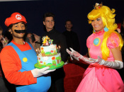 Model Chrissy Teigen Celebrates a Mushroom Kingdom Birthday