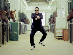 Dance in 'gangnam' style