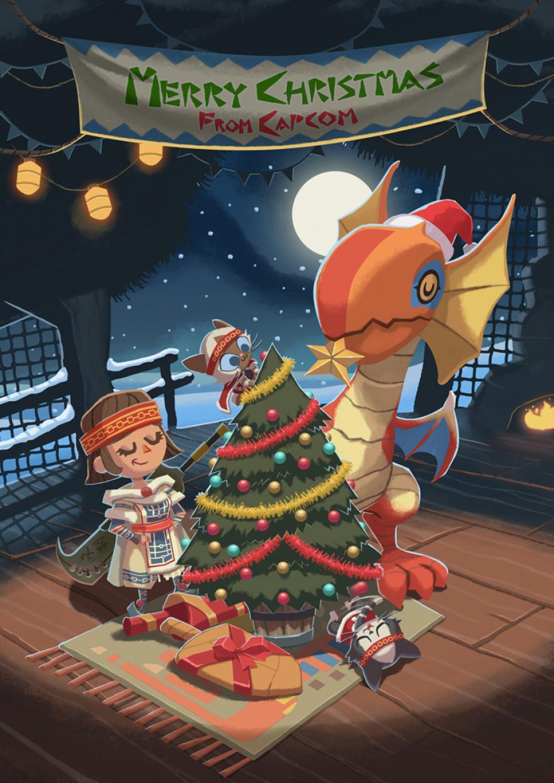 Capcom Uk Christmas 2013 Card 744