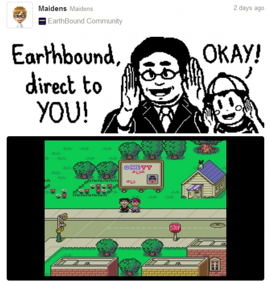 Earth Bound Direct