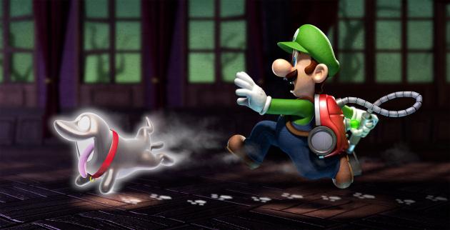 Luigi Dark Moon