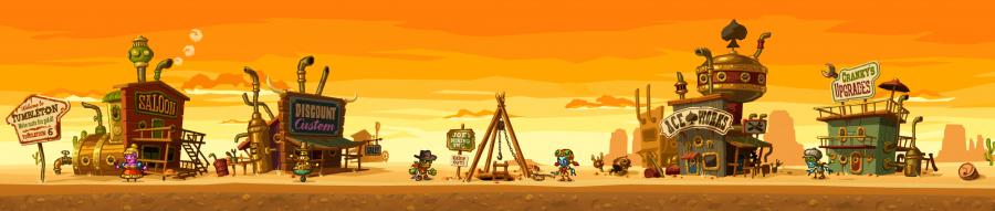 Steam World Dig Banner
