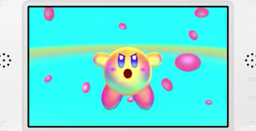 Kirby Triple Deluxe Screen