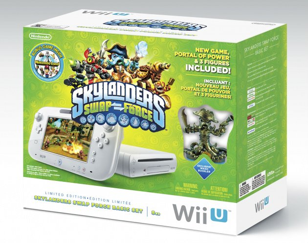 Wii U Skylanders Bundle EDIT