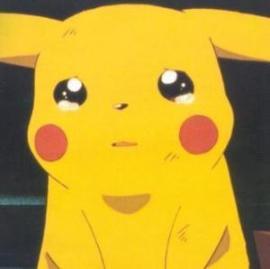 Pikachu hears the news